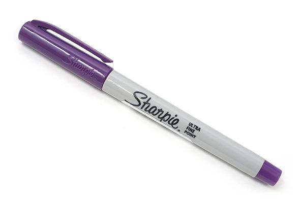 Sharpie Permanent Marker - Ultra Fine Point - Purple - SHARPIE 37118