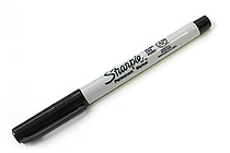 Sharpie Permanent Marker - Ultra Fine Point - Black - SANFORD 37121
