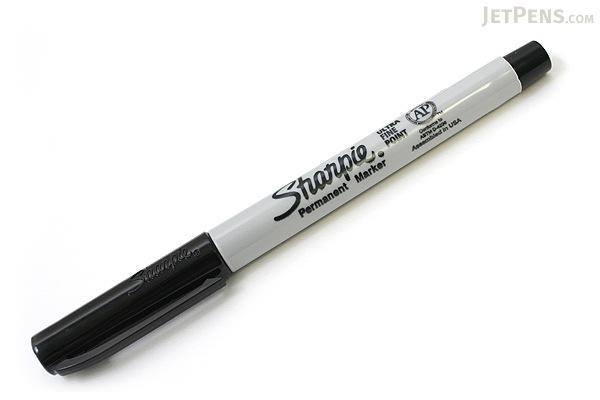 Sharpie Permanent Marker - Ultra Fine Point - Black - SHARPIE 37121