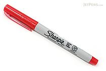 Sharpie Permanent Marker - Ultra Fine Point - Red - SHARPIE 37122