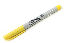Sharpie Permanent Marker - Ultra Fine Point - Yellow - SANFORD 37125