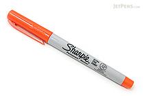 Sharpie Permanent Marker - Ultra Fine Point - Orange - SHARPIE 37126