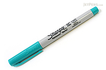 Sharpie Permanent Marker - Ultra Fine Point - Aqua - SHARPIE 37243