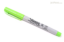 Sharpie Permanent Marker - Ultra Fine Point - Lime - SHARPIE 37244