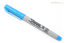 Sharpie Permanent Marker - Ultra Fine Point - Turquoise - SHARPIE 37248