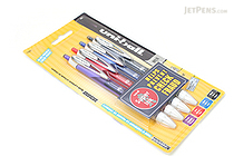 Uni-ball Signo 207 Colors Retractable Gel Ink Pen - 0.7 mm - Pack of 4 Business Colors - SANFORD 1739927
