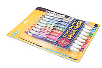 Uni-ball Signo 207 Colors Retractable Gel Pen - 0.7 mm - Pack of 8 Colors - SANFORD 1739929