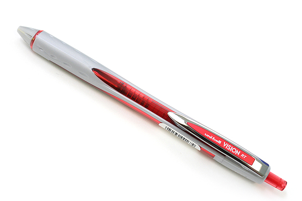 Uni-ball Vision RT Retractable Liquid Ink Roller Ball Pen - 0.8 mm - Red - SANFORD 1754855