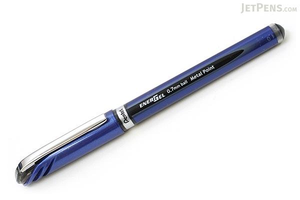 Pentel EnerGel Euro Gel Pen - 0.7 mm - Black - PENTEL BL27-A
