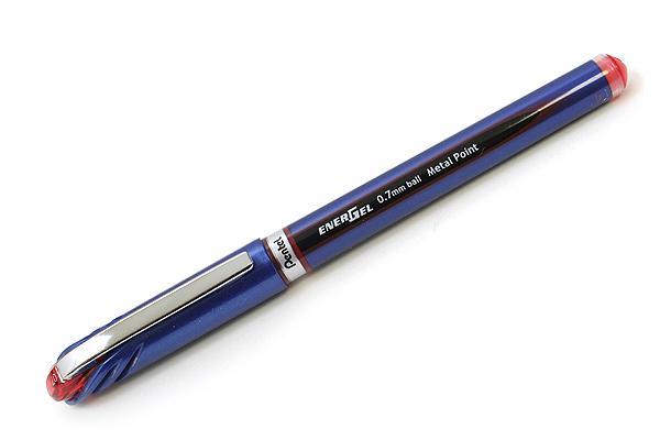 Pentel EnerGel Euro Gel Pen - 0.7 mm - Red - PENTEL BL27-B