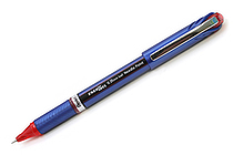Pentel EnerGel Euro Needle-Point Gel Pen - 0.35 mm - Red - PENTEL BLN23-B