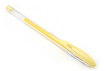 Uni-ball Signo Scents UM-120SC Gel Ink Pen - 0.8 mm - Pineapple Yellow - UNI UM-120SC PINEAPPLE