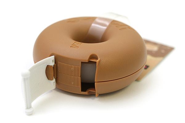 3M Scotch Donut Tape Dispenser - Caramel Brown - 12 mm X 11.4 m - 3M 810DN-CA