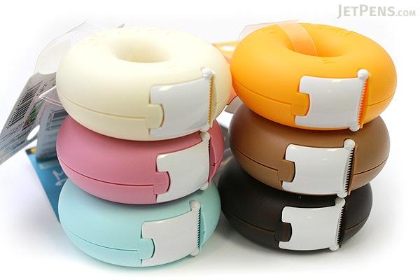 3M Scotch Donut Tape Dispenser - Whip Beige - 12 mm X 11.4 m - 3M 810DN-WH