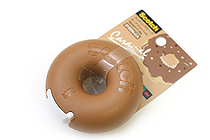 3M Scotch Donut Tape Dispenser - Caramel Brown - 12 mm X 11.4 m - 3M 810DN-CA