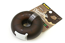 3M Scotch Donut Tape Dispenser - Chocolate Brown - 12 mm X 11.4 m - 3M 810DN-CH