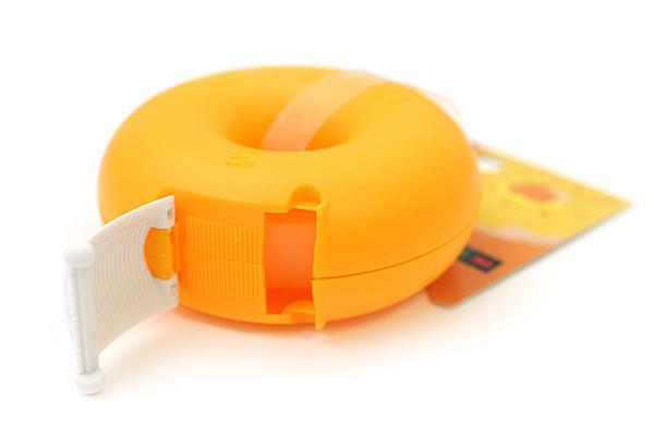 3M Scotch Donut Tape Dispenser - Mango Orange - 12 mm X 11.4 m - 3M 810DN-MA