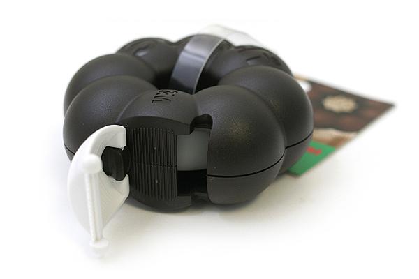 3M Scotch Ring Donut Tape Dispenser - Chocolate Brown - 12 mm X 11.4 m - 3M 810RI-CH