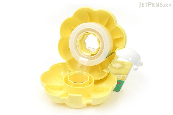 3M Scotch Ring Donut Tape Dispenser - Custard Yellow - 12 mm X 11.4 m - 3M 810RI-CU