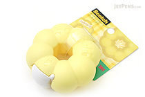 3M Scotch Ring Donut Tape Dispenser - Custard Yellow - 12 mm X 11.4 m - 3M 810RI-CU