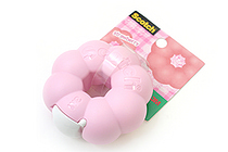 3M Scotch Ring Donut Tape Dispenser - Strawberry Pink - 12 mm X 11.4 m - 3M 810RI-ST