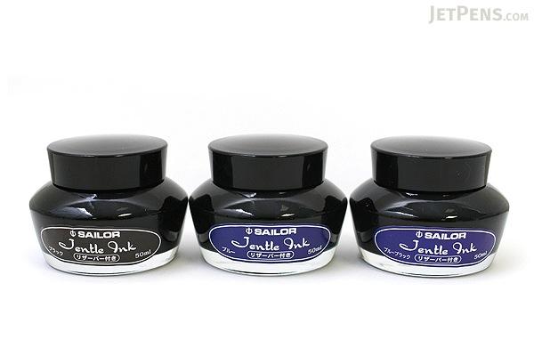 Sailor Jentle Black Ink - 50 ml Bottle - SAILOR 13-1000-220