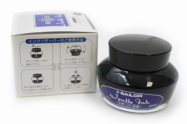 Sailor Fountain Pen Jentle Ink - 50 ml - Blue - SAILOR 13-1000-240