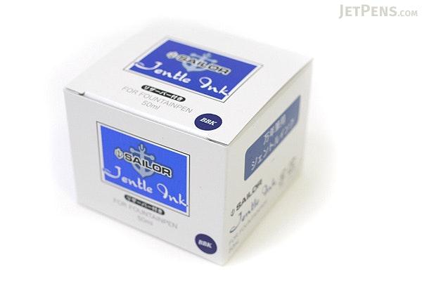 Sailor Jentle Blue Black Ink - 50 ml Bottle - SAILOR 13-1000-244