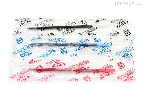 Sailor SailorPica Kirei Anti-Bacterial Ballpoint Multi Pen Refill - 0.7 mm - Red - SAILOR 18-0055-230