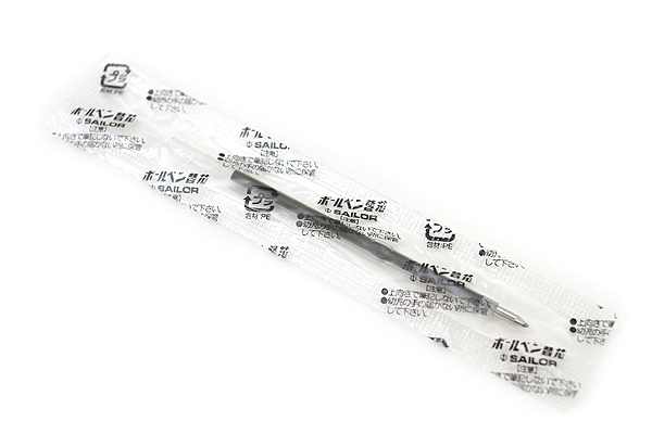 Sailor SailorPica Kirei Anti-Bacterial Ballpoint Multi Pen Refill - 0.7 mm - Black - SAILOR 18-0055-220