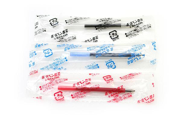 Sailor SailorPica Kirei Anti-Bacterial Mini Ballpoint Multi Pen Refill - 0.7 mm - Blue - SAILOR 18-5130-240