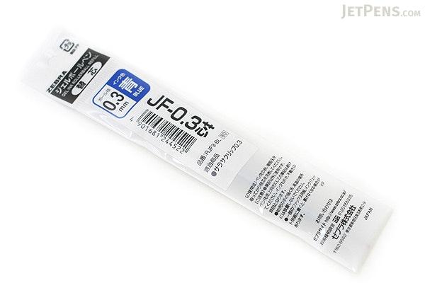 Zebra JF-0.3 Sarasa Gel Pen Refill - 0.3 mm - Blue - ZEBRA RJF3-BL