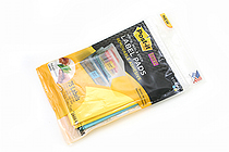 3M Post-It Super Sticky Removable Label Pad - 2 7/8 in x 2 7/8 in - 25 Sheets - Pack of 3 Pads - 3M 2900-BY