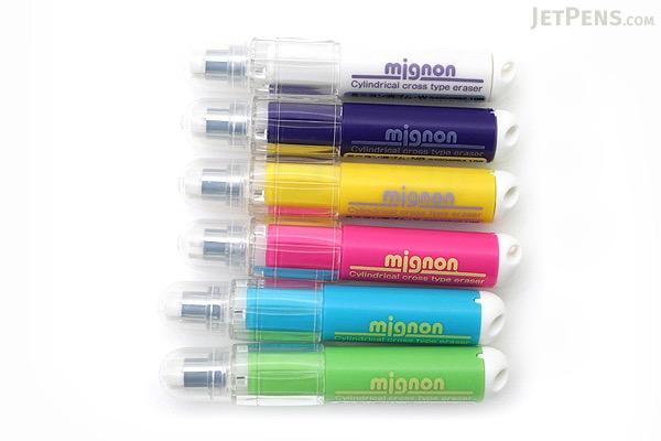 Sun-Star Mignon Mini Twist Eraser - Green Body - SUN-STAR 4204638