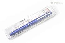 Pilot Hi-Tec-C Coleto Lumio 4 Color Gel Ink Multi Pen Body Component - Metallic Blue - PILOT LHKCL-1SC-ML