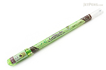 Zebra Laflleche Sweets Scents Gel Ink Pen - 0.7 mm - Maccha Cream Scent - Light Green Ink - ZEBRA JJ41-LG
