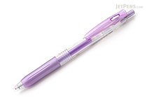 Zebra Sarasa Push Clip Gel Pen - Metallic Colors - 1.0 mm - Shiny Purple - ZEBRA JJE15-SPU