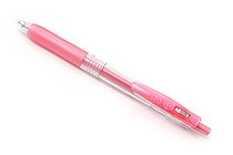 Zebra Sarasa Push Clip Gel Pen - Metallic Colors - 1.0 mm - Shiny Red - ZEBRA JJE15-SR