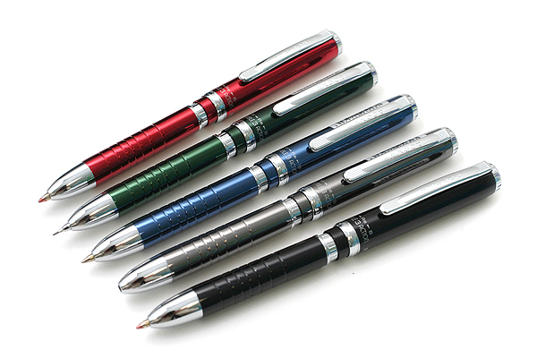 Platinum MWBP-3000 Pocket 2 Color 0.7 mm Ballpoint Multi Pen + 0.5 mm Pencil - Royal Blue Body - PLATINUM MWBP-3000 56