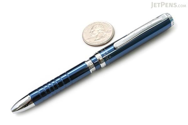 Platinum MWBP-3000 Pocket 2 Color 0.7 mm Ballpoint Multi Pen + 0.5 mm Pencil - Royal Blue Body - PLATINUM MWBP-3000 56