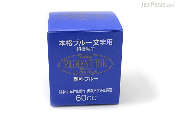 Platinum Blue Ink - Pigment - 60 ml Bottle - PLATINUM INKG-1500 60