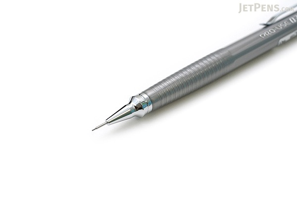 Platinum Pro-Use Original 03 Drafting Pencil - 0.3 mm - Silver Body - PLATINUM MSD-300A