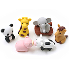 Iwako Zoo Novelty Eraser - 6 Piece Set