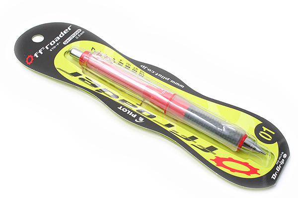 Pilot Dr. Grip CL Offroader Shaker Mechanical Pencil - 0.5 mm - Power Red Body - PILOT HDGCL50R-OPR