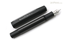 Kaweco AC Sport Carbon Fountain Pen - Black- Fine Nib - KAWECO 10000146