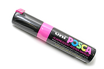 Uni Posca Paint Marker PC-85F - Fluorescent Pink - Bold Point - SANFORD 63832