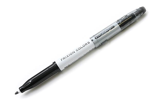 Pilot FriXion Colors Erasable Marker - Black - PILOT SFC-10M-B
