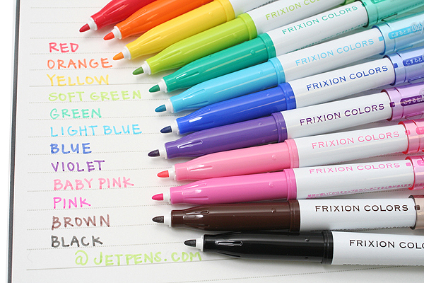 Pilot FriXion Colors Erasable Marker - Blue - PILOT SFC-10M-L