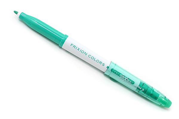 Pilot FriXion Colors Erasable Marker - Green - PILOT SFC-10M-G