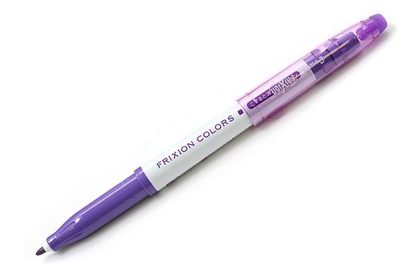 Pilot FriXion Colors Erasable Marker - Violet - PILOT SFC-10M-V